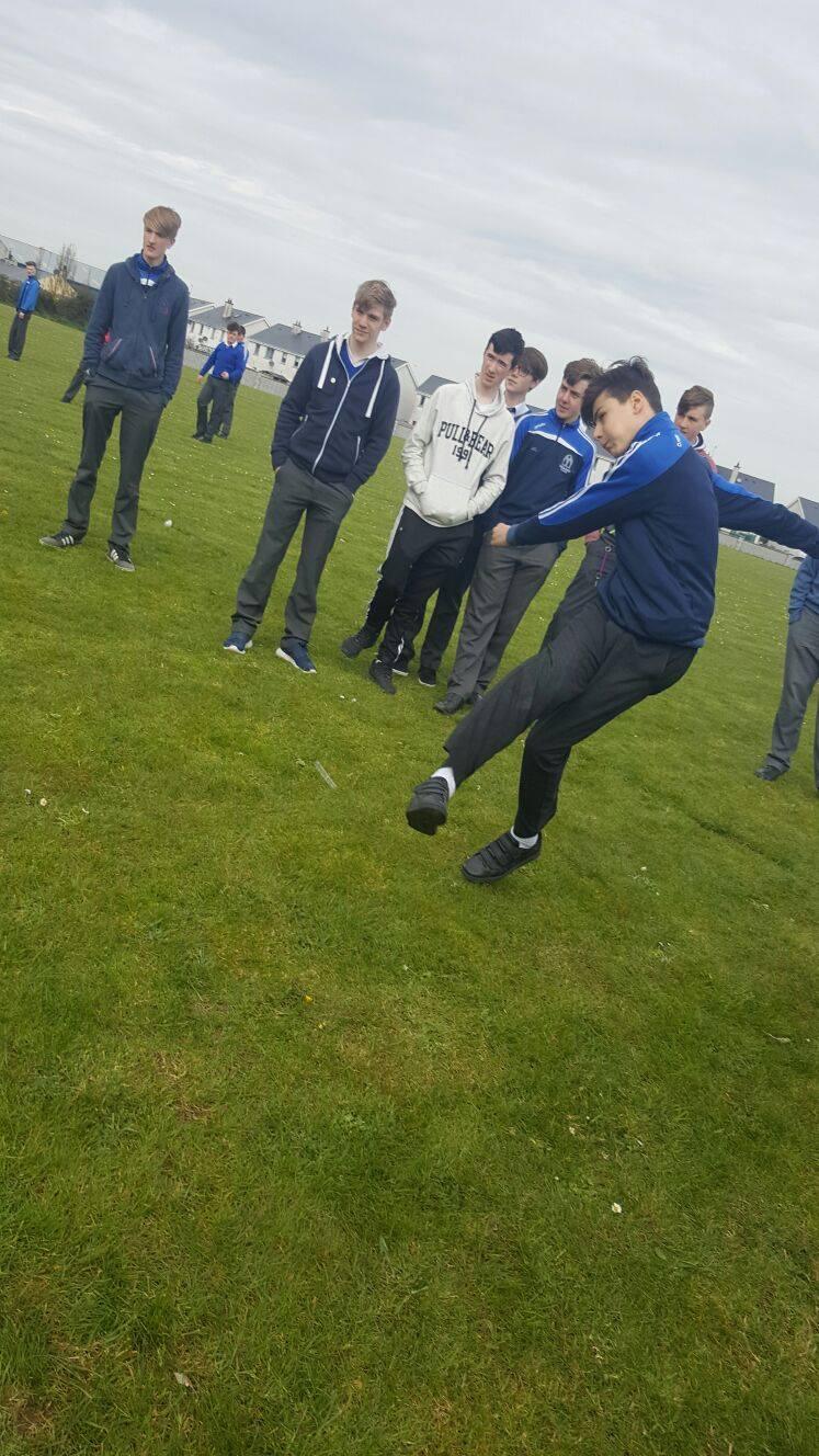Thursday 21st April: Desmond College Active Schools Week 2016: Penalty Shoot Out
