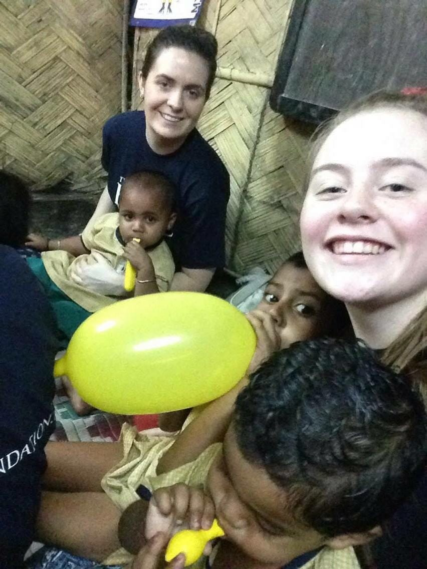 April 2016: Desmond College visits HOPE foundation orphanages, homes and hospitals