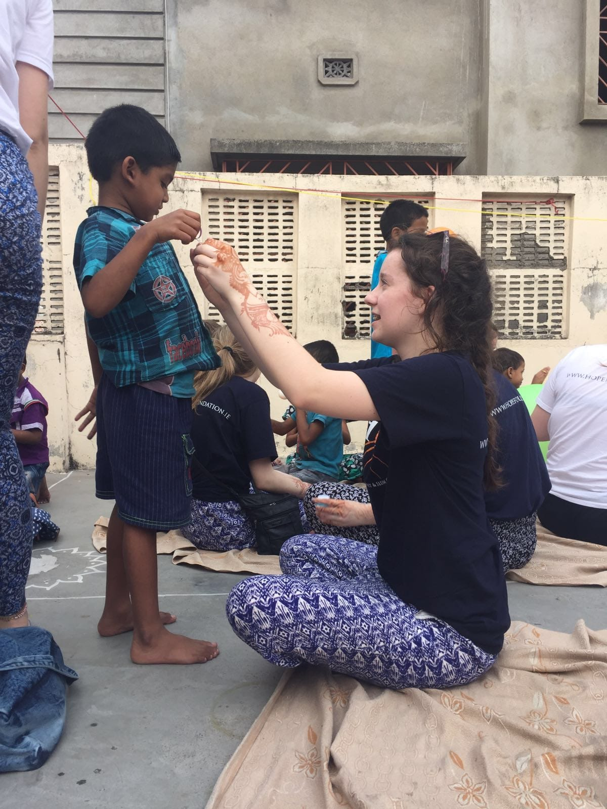 April 2016: Kolkata gave the Desmond College Students a chance to see why the HOPE foundation need the raised money