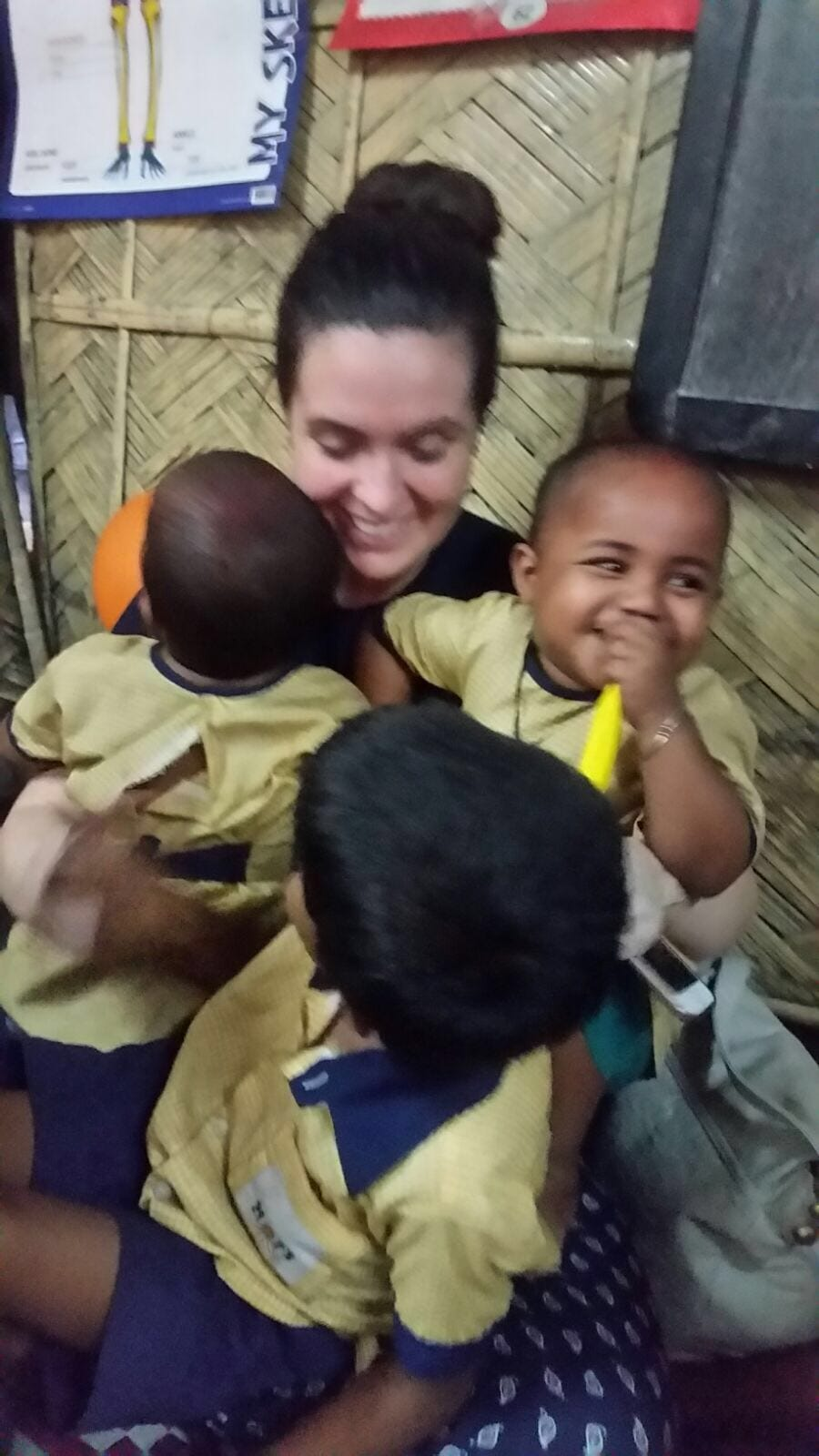 April 2016: Desmond College staff and students had a wonderful time in Kolkata meeting the children who are helped and supported by the HOPE foundation