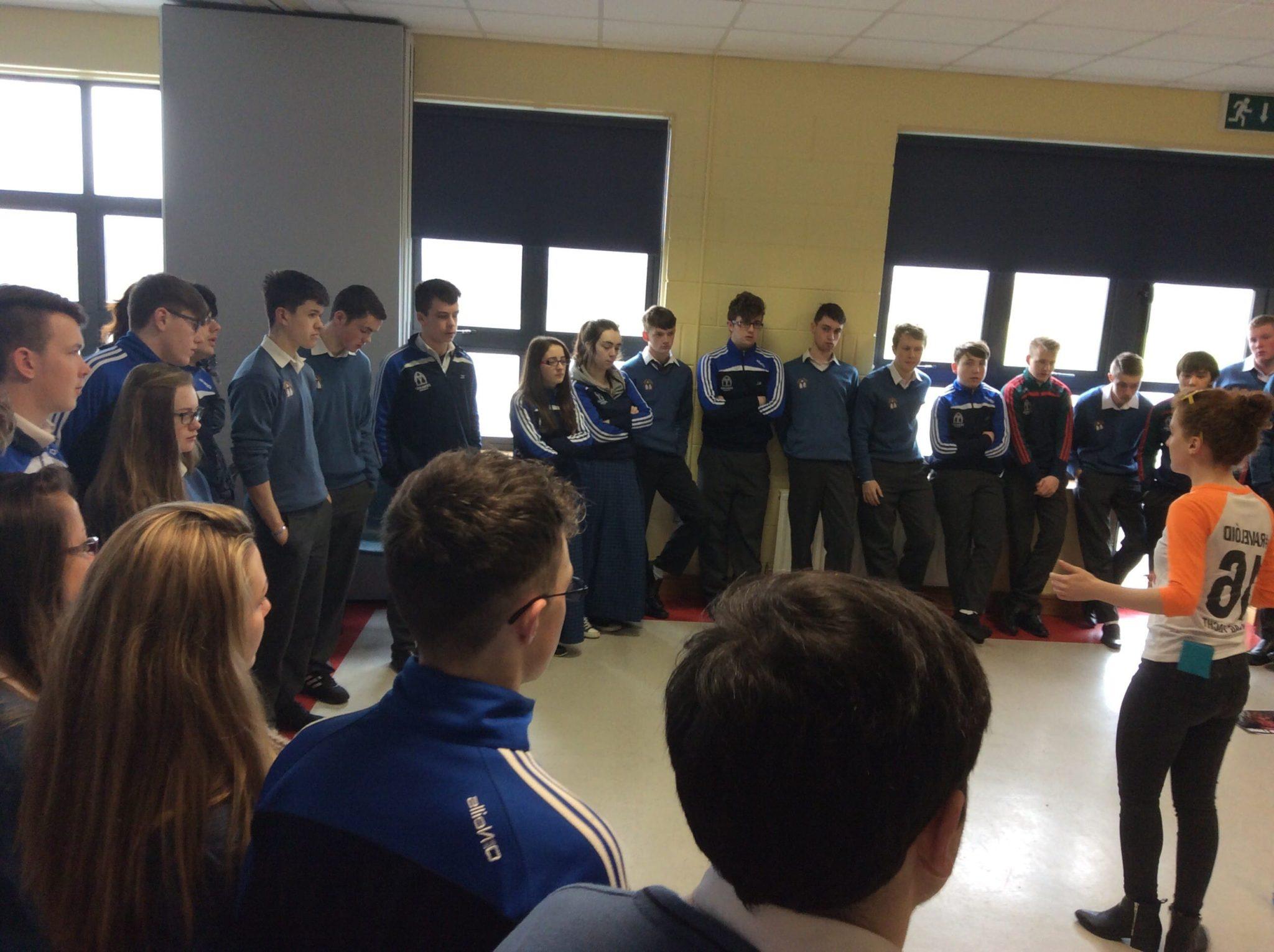 March 2016 Seachtain na Gaeilge in Desmond College