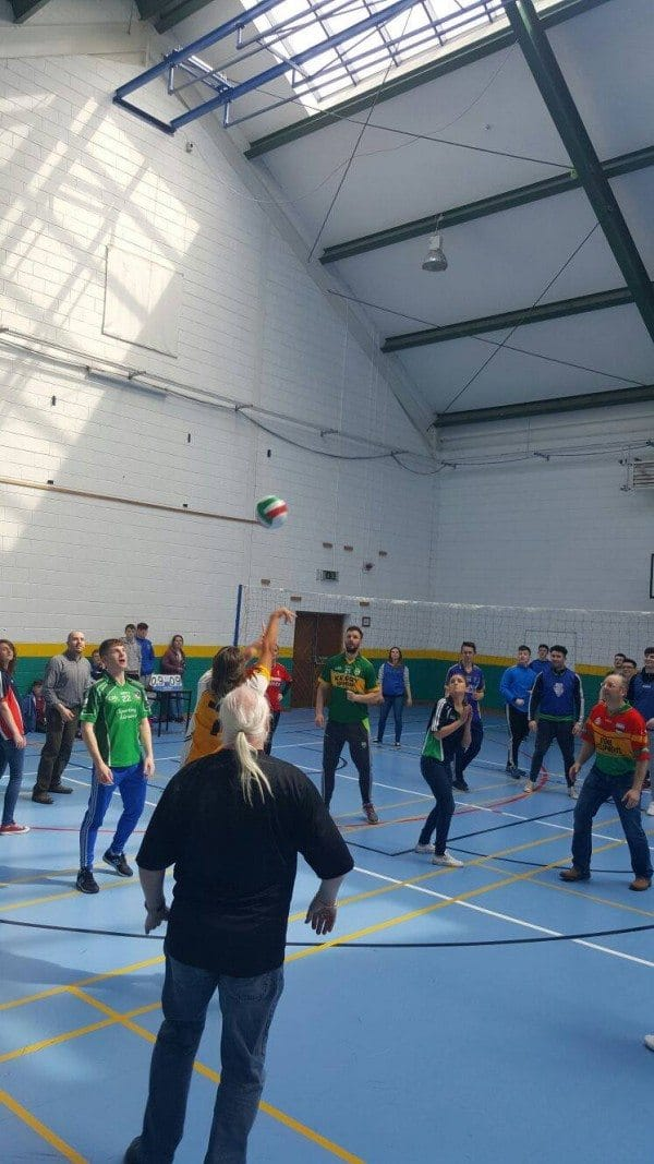 22nd April: #ActiveFriday : 2016 Active Schools Week: Teachers v Students Volleyball match