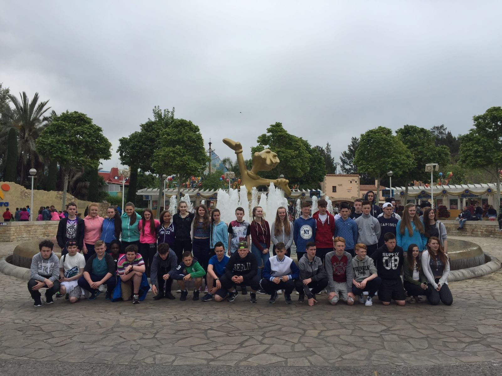 April 2016: Desmond College Second Year's School Tour To Barcelona