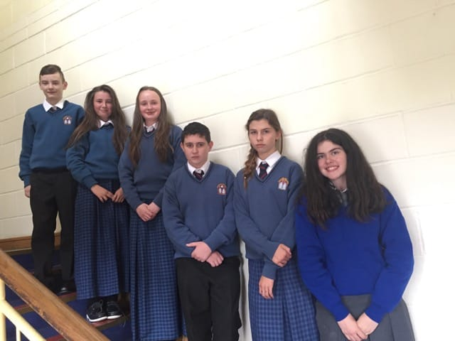 Desmond College and GaelCholaiste new First Year Students in Desmond College August 2016