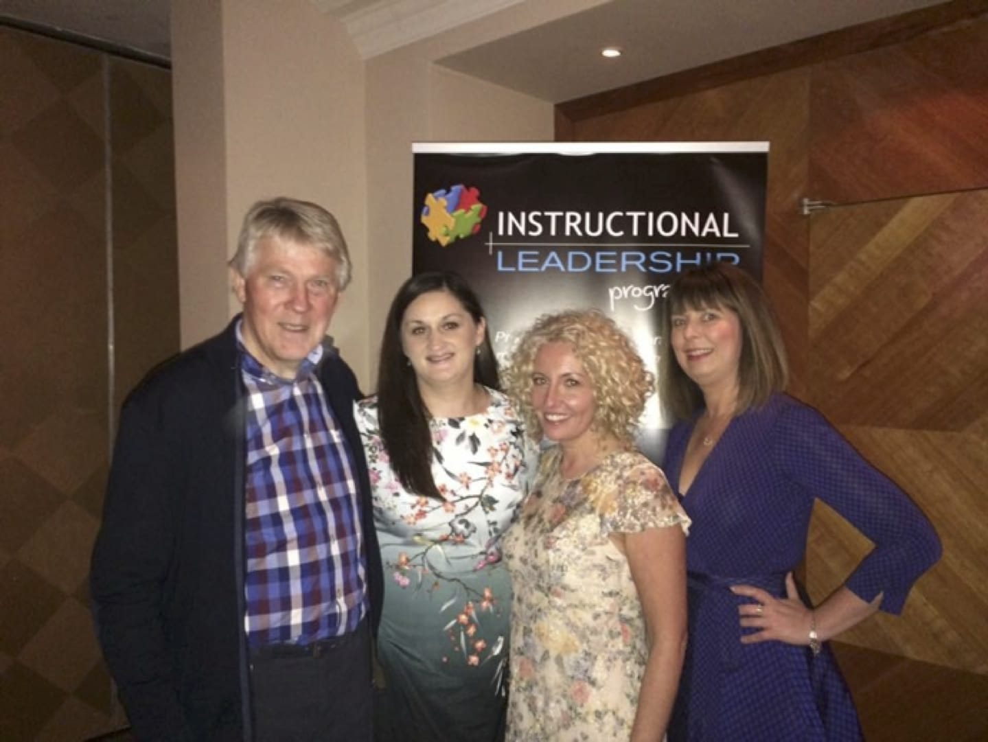 Oct 2016: Desmond College Post Primary School staff, Margaret O'Mahoney, Bernadine Enright and Liz Cregan graduated from The Barrie Bennett Instructional Leadership Programme