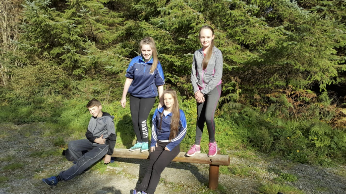 Oct 2016:First year and transition year hiking Trip to Ballyhoura