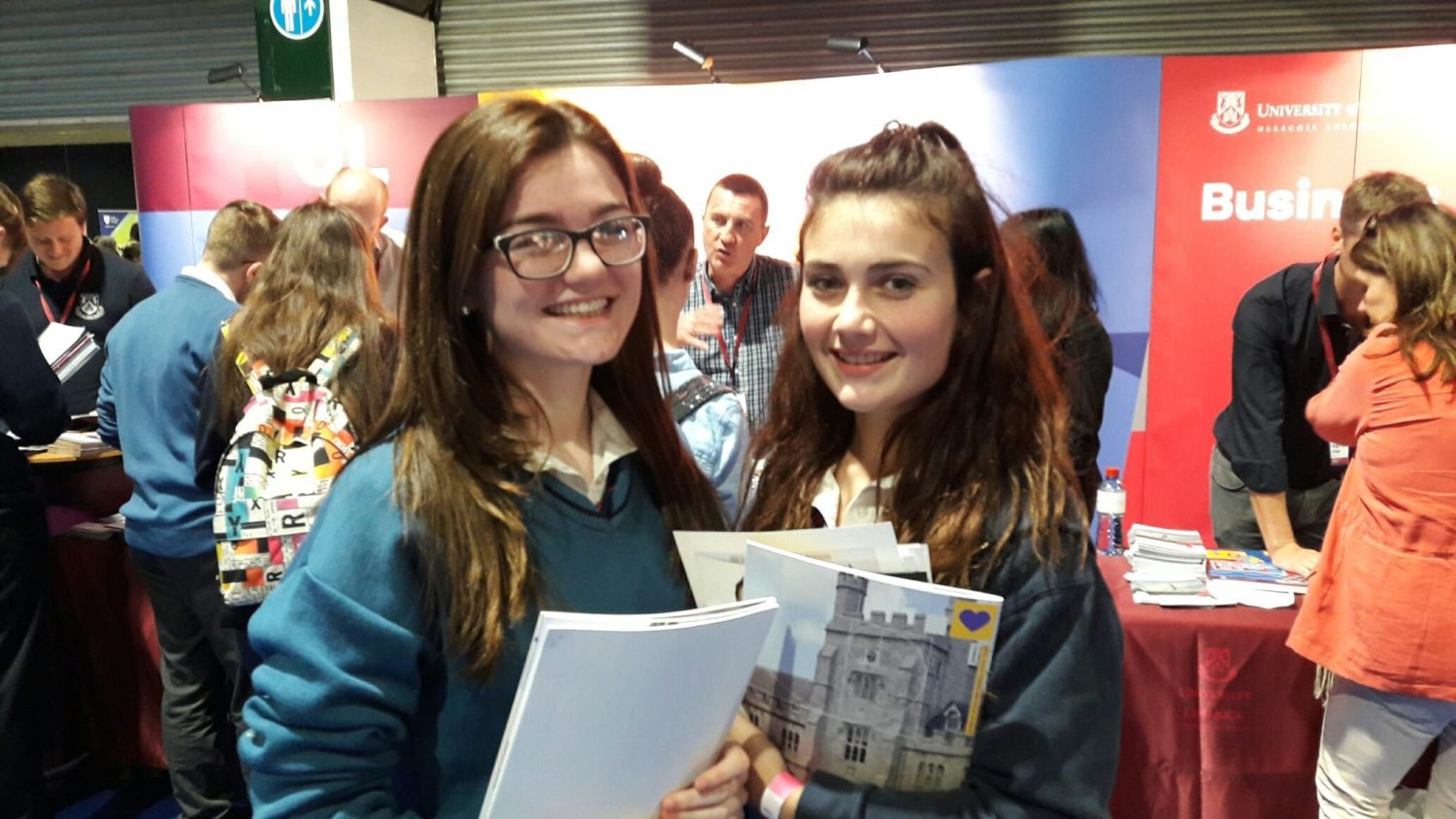2016 Sept: Claire Mortell and Emma Herbert check out the career options available to them.