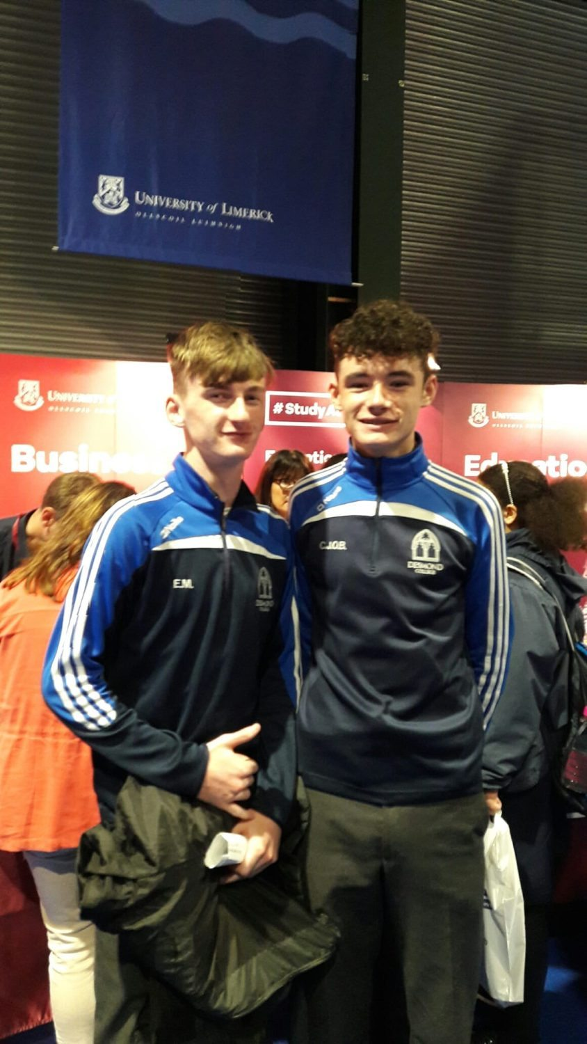 Sept 2016: Eoghan Mulqueen and CJ O Brien pictured at the Higher Options Conference in Dublin