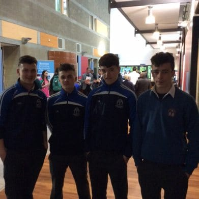 November 2016: Desmond College Post Primary School visit the Institute of Technology Tralee to check out available courses