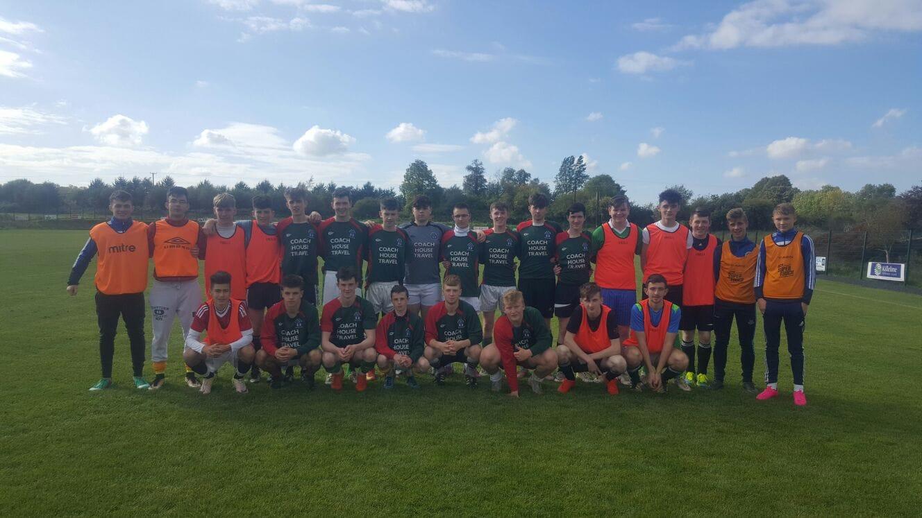 Nov 2016: Desmond College Post Primary School Soccer: Under 19 Team win over Tralee