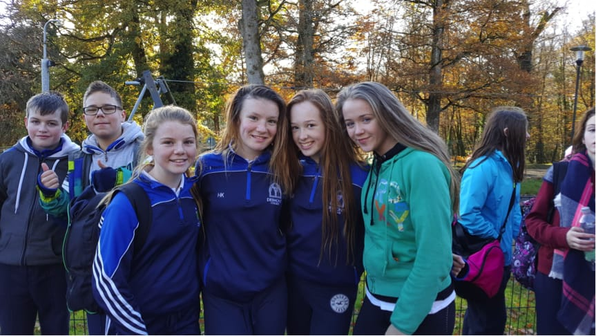 December 2016: Desmond College First Year Students at the Orienteering Trip to Doneraile