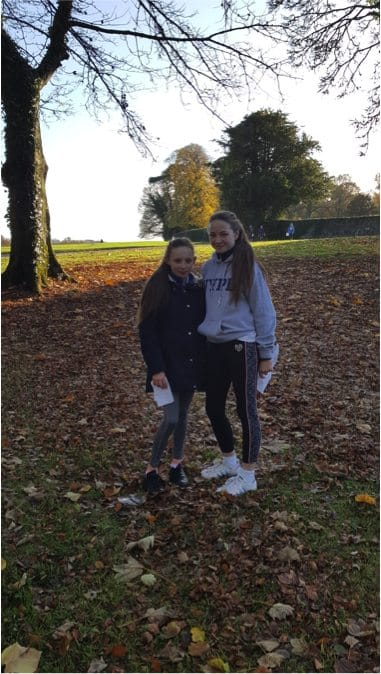 Dec 2016: Desmond College Post Primary Students at the Orienteering Trip to Doneraile