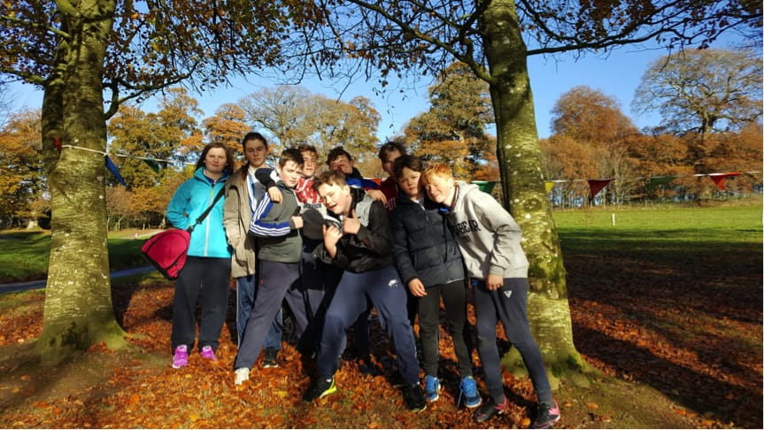December 2016: Some Desmond college First Year Students at the Orienteering Trip to Doneraille