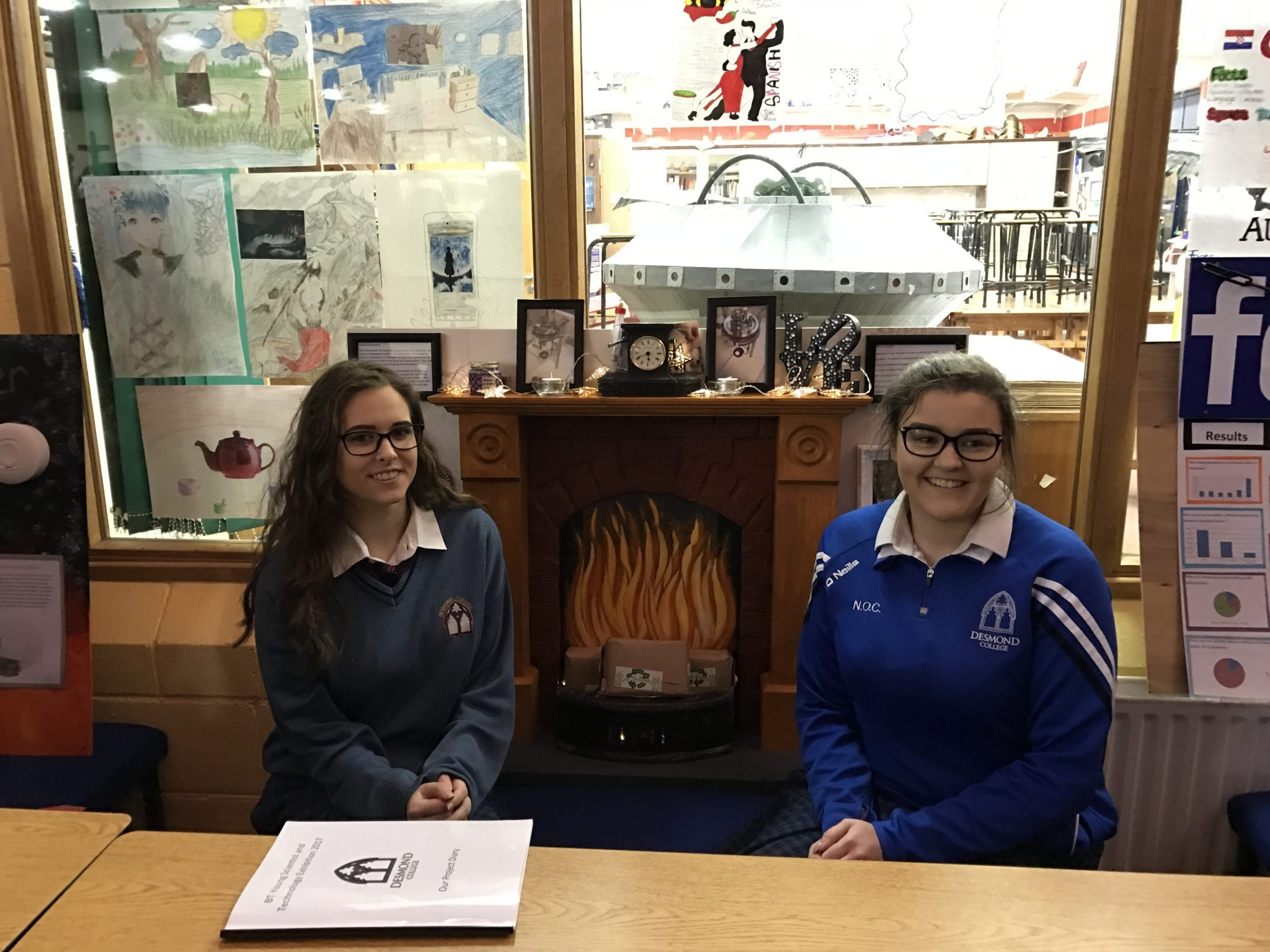 11 January 2017: BTYSTE 2017 - A Rush to Biomass – Senior Biological and Ecological (Jaimie Cambell and Niamh O Connell)
