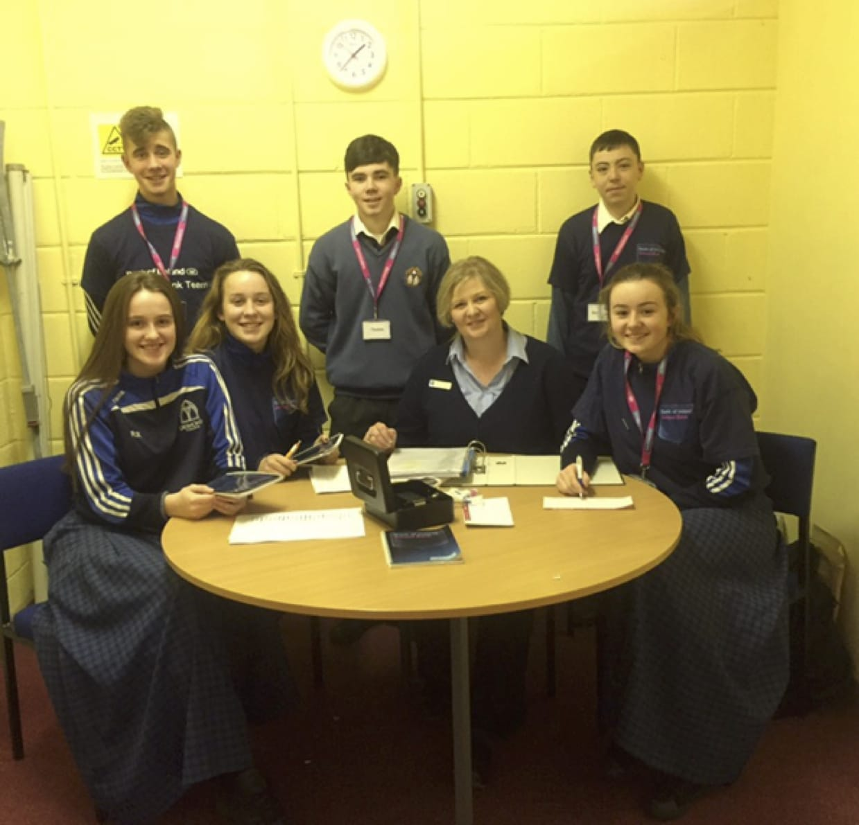 Feb 2017: The School Bank in Desmond College in conjunction with Bank of Ireland