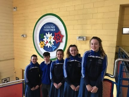 2017: Desmond College Students who participated and completed the Anois Programme