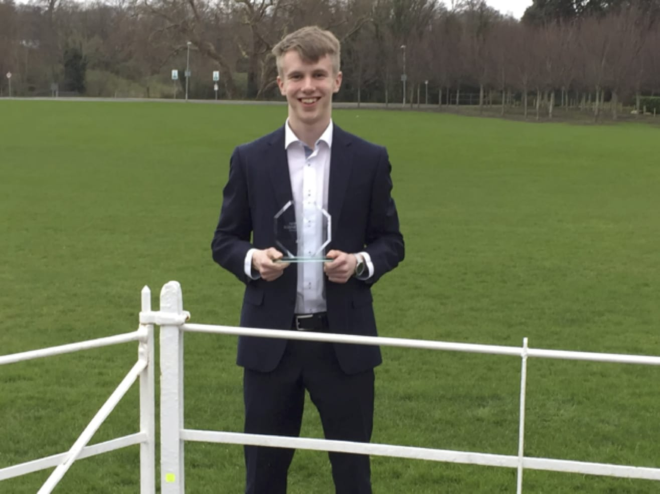 March 2017: Jack O Connor, 6th Year Student award best Individual student at the BT Young Scientist Business Bootcamp