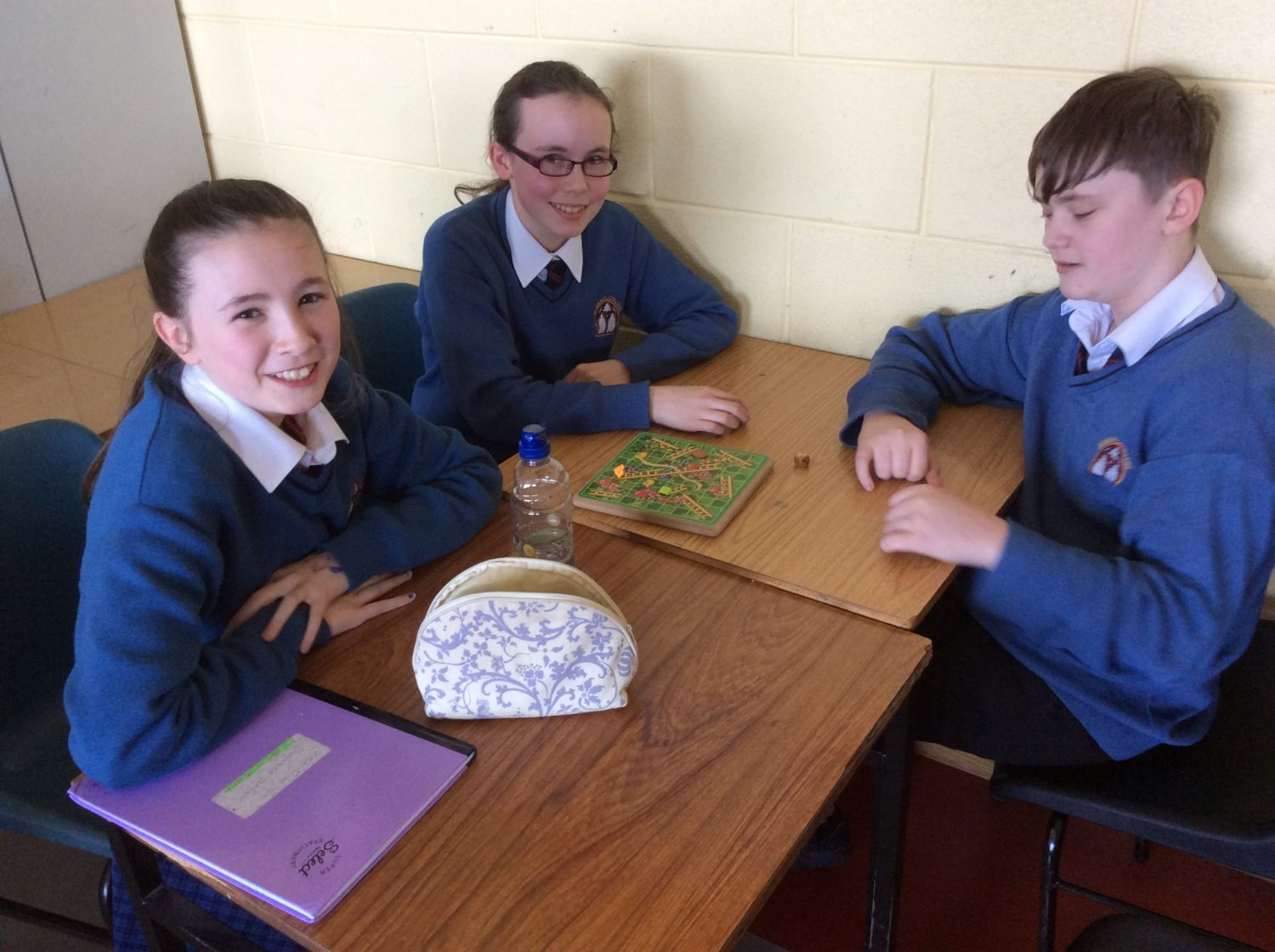 March 2017: Desmond College school students participating in the imeachtaí that were happening for Seachtain na Gaeilge