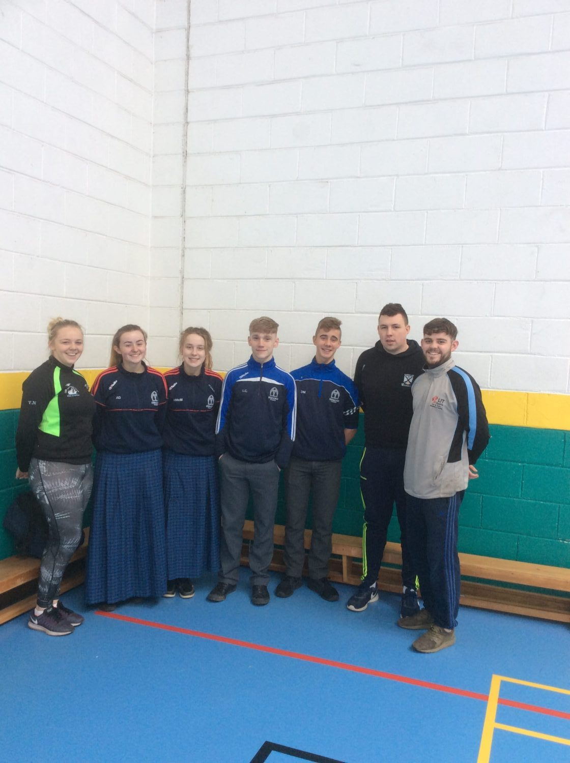 27th March 2017: Desmond College students were participating in Munster Fittest Family in LIT