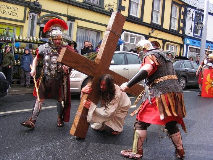 April 2017: Desmond College's the Way of the Cross on Good Friday