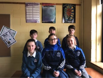 March 2017: Winners of Literacy Week competitions in Desmond College Post Primary School