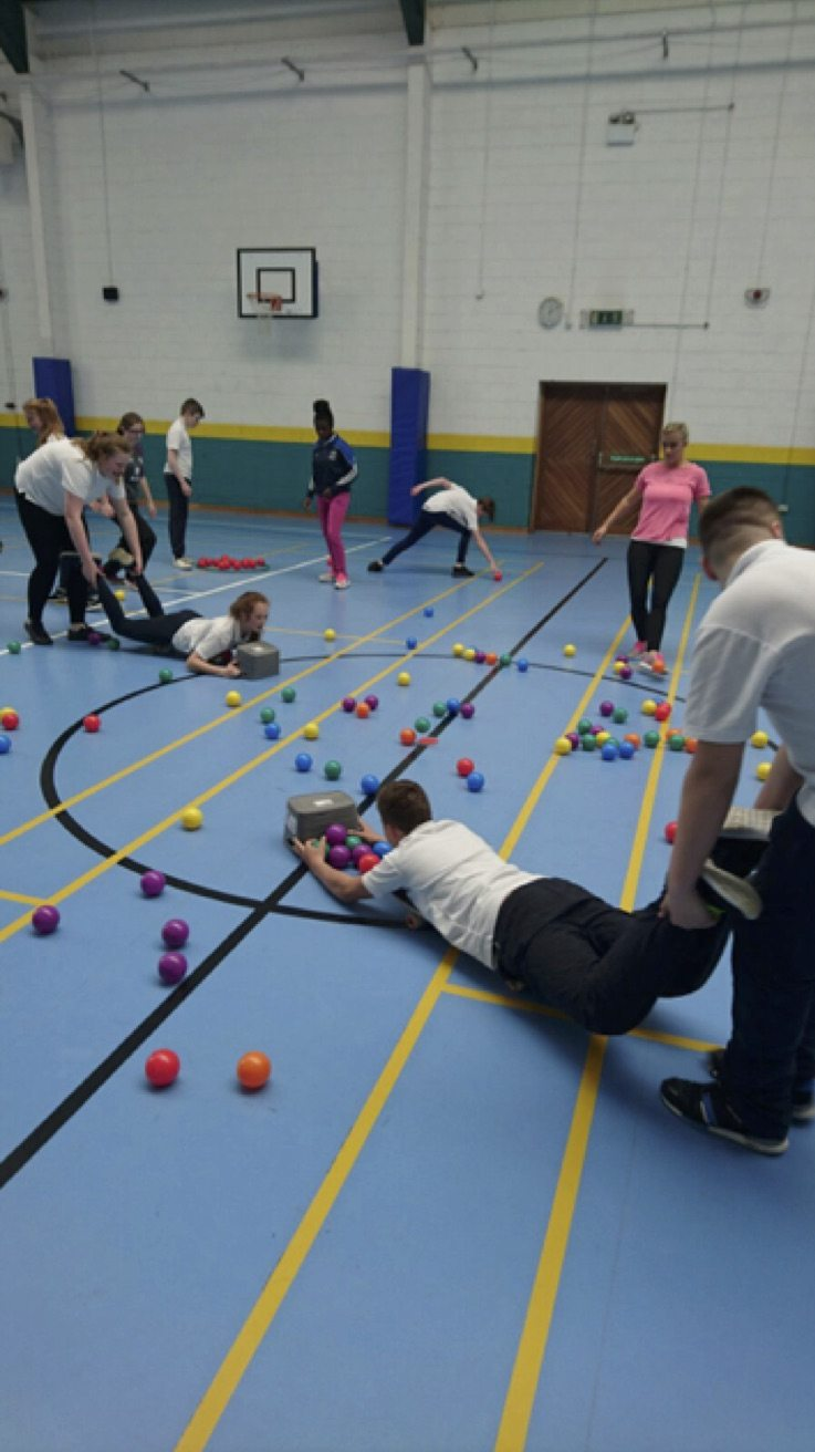 May 2017: First Year Students taking part in desmond college active school week