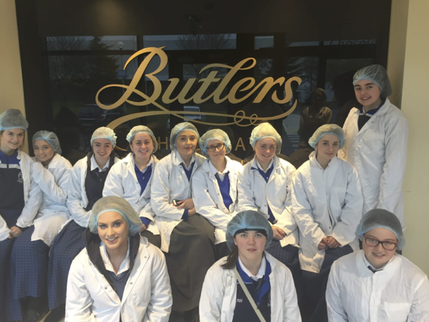 May 2017: Desmond College 5th Year Home Economics Students visit Butlers, Home of Chocolate
