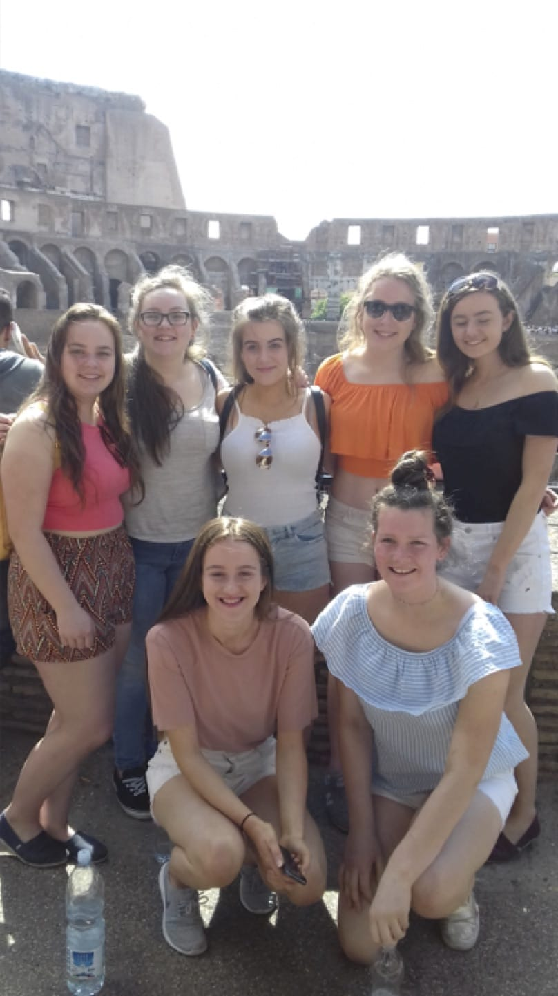May 2017: Desmond College Transition Year trip to Rome