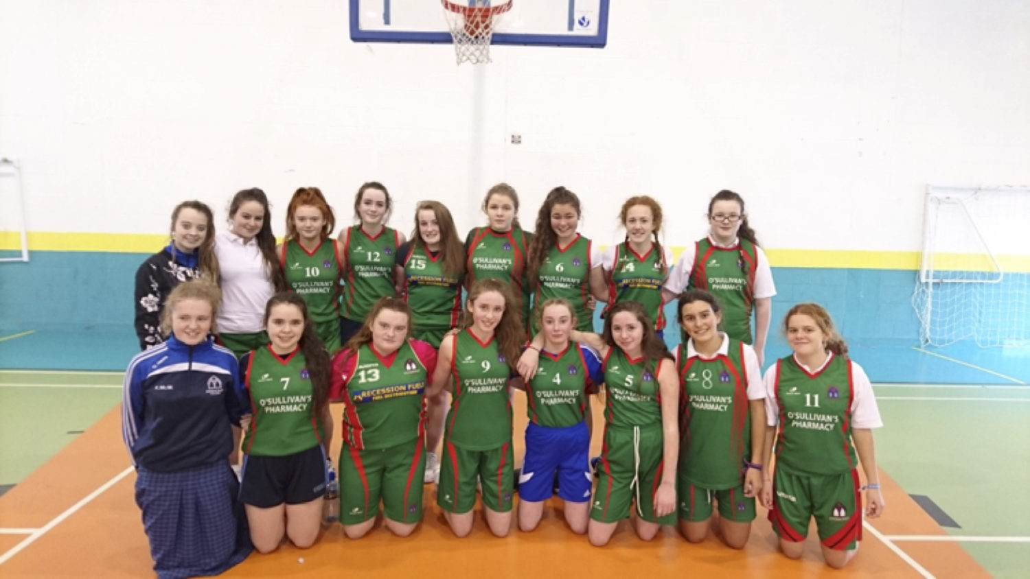 May 2017: Desmond College 2016/2017 Second Year Girls Basketball Team