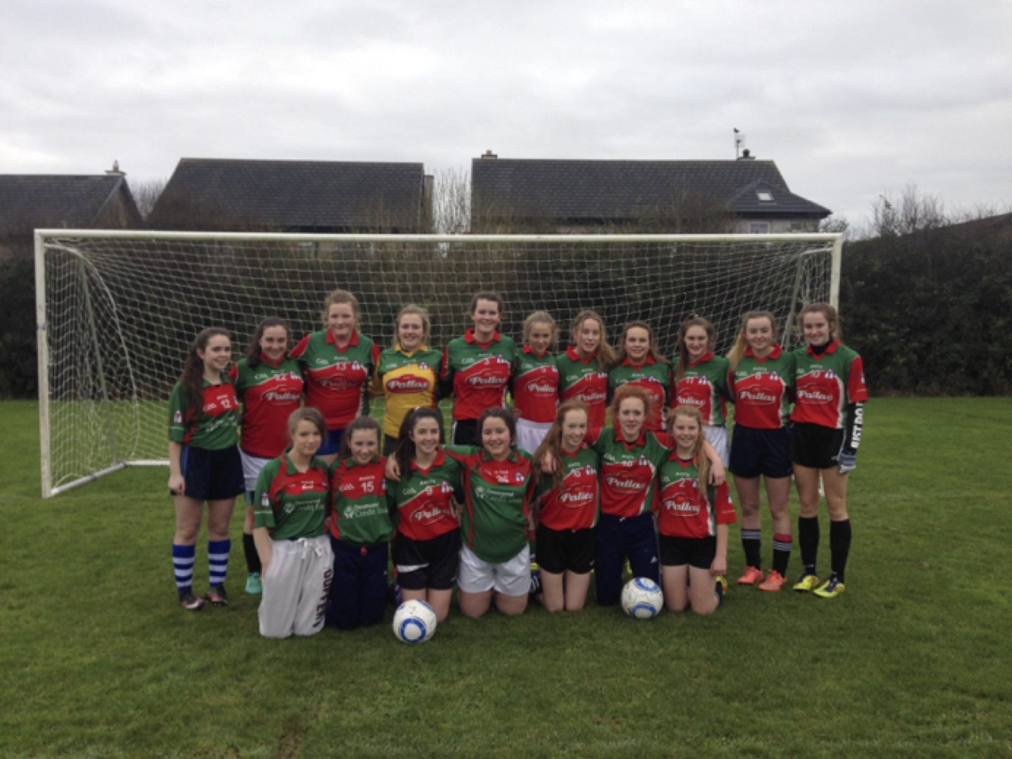 May 2017: Desmond College the Junior Shannonside Soccer Champions!