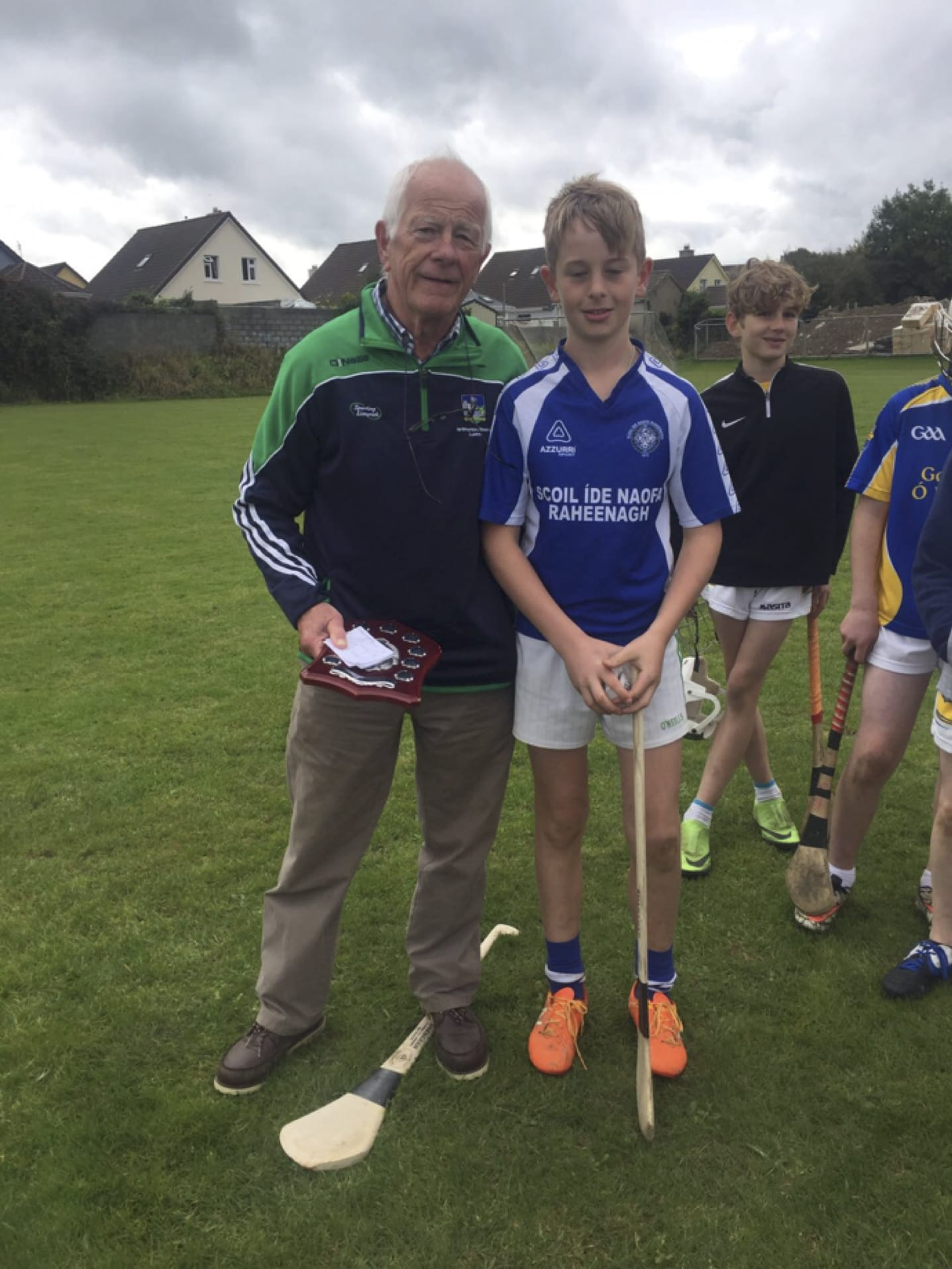 Oct 2017: Desmond College's Primary School Hurling and Camogie Blitz