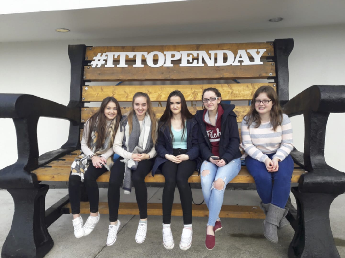 Oct 2017: Desmond College students attend the Open Day in Institute of Technology, Tralee