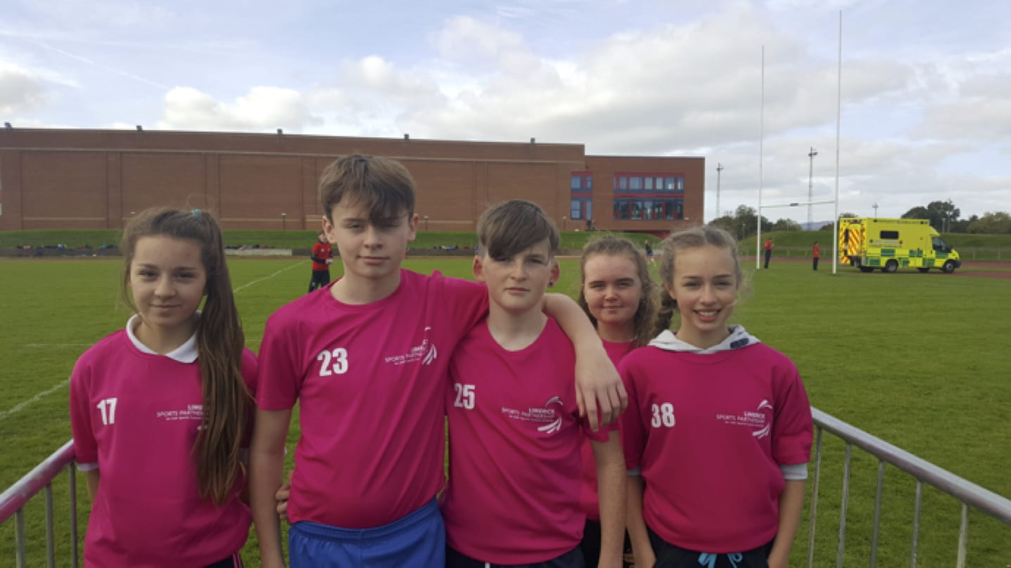 Oct 2017: Desmond College Post Primary Students participated in the Schools World Marathon Competition, coming 4th in Limerick.