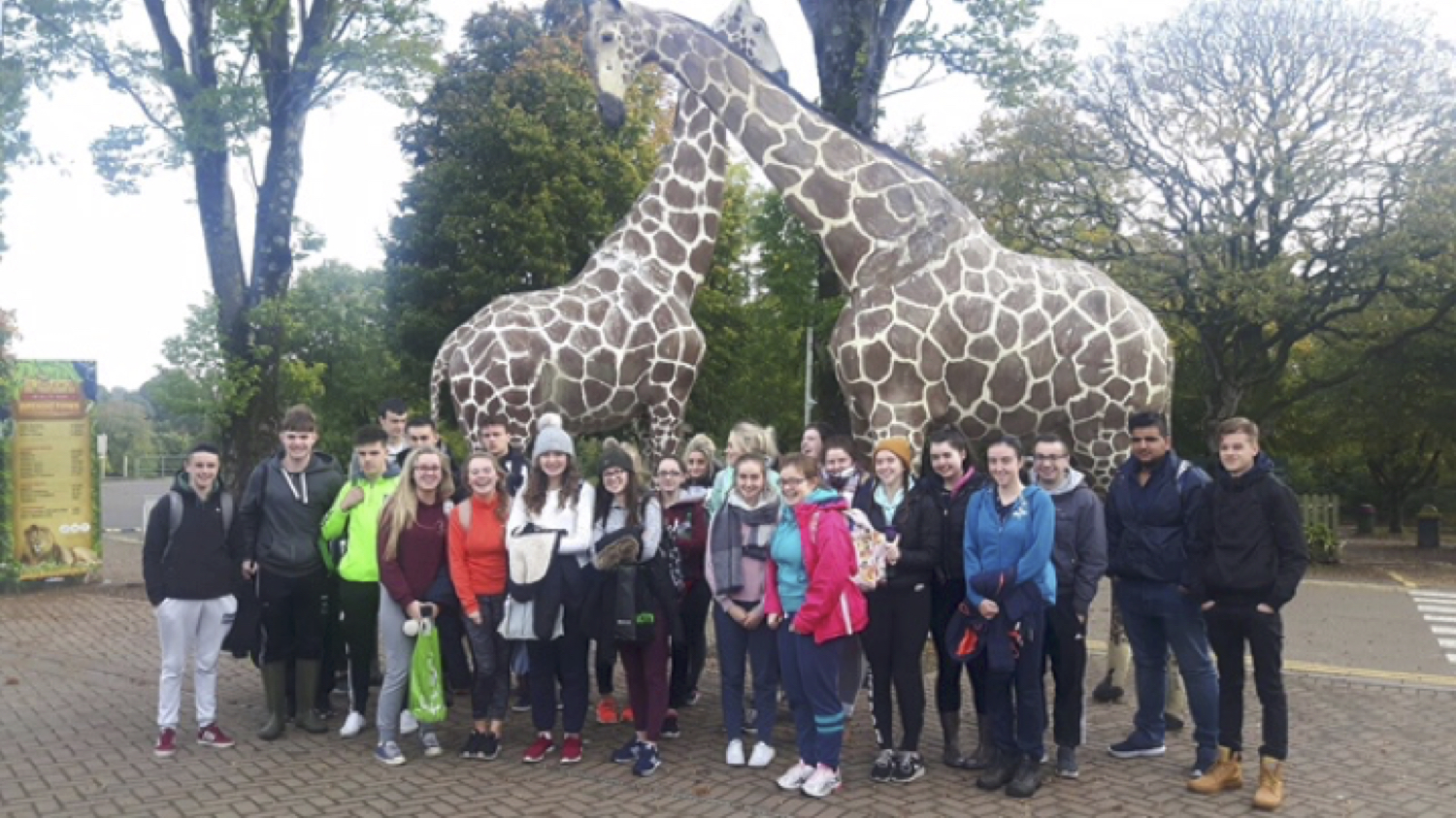 Sept 2017: Desmond College leaving Certificate Students visit Foto WildLife Park