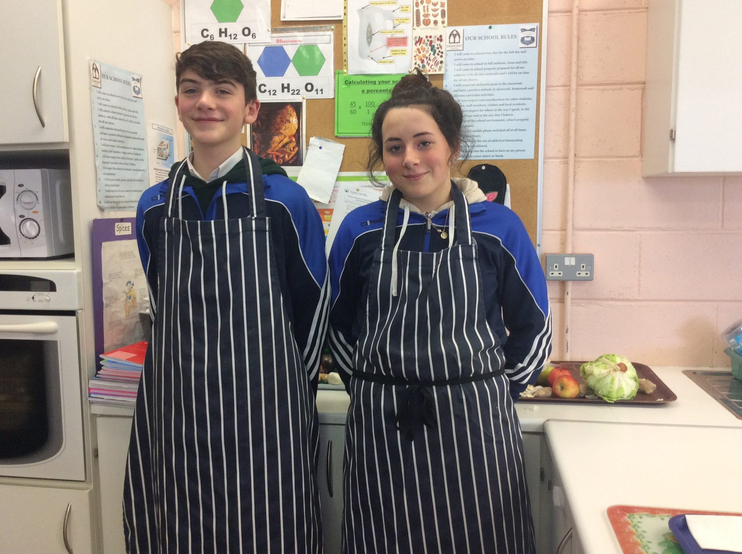 Jan 2018: Winner of the Desmond College 2nd year Healthy Eating Cook Off
