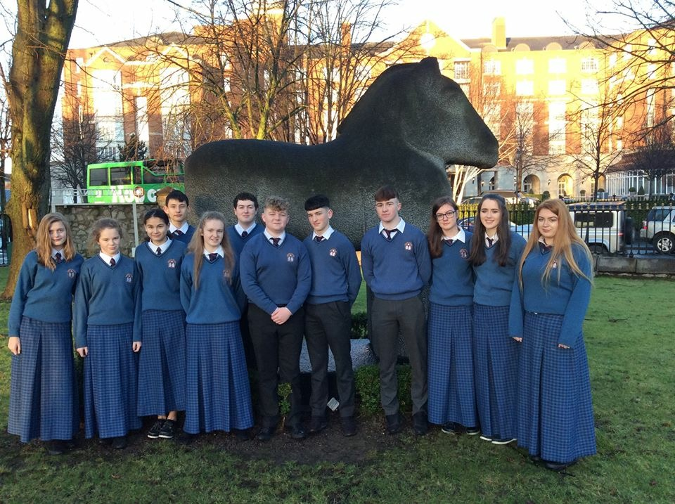 Jan 2018: Desmond College students at the BTYSE2018