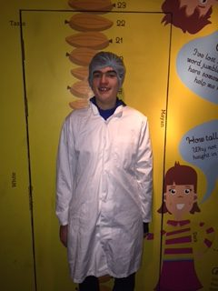 Dec 2017: Desmond College Student enjoying Butlers Chocolate tour