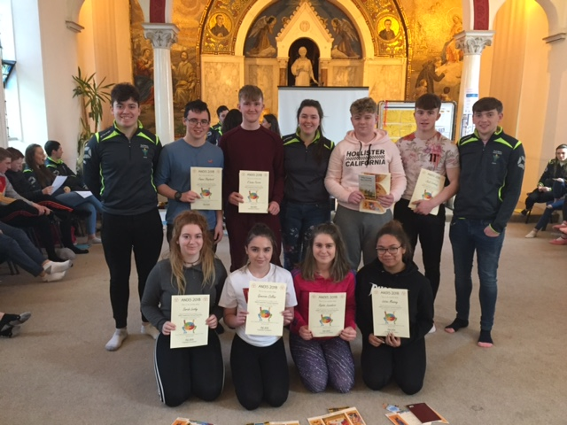 2018 February : TY students complete Anois Leadership course