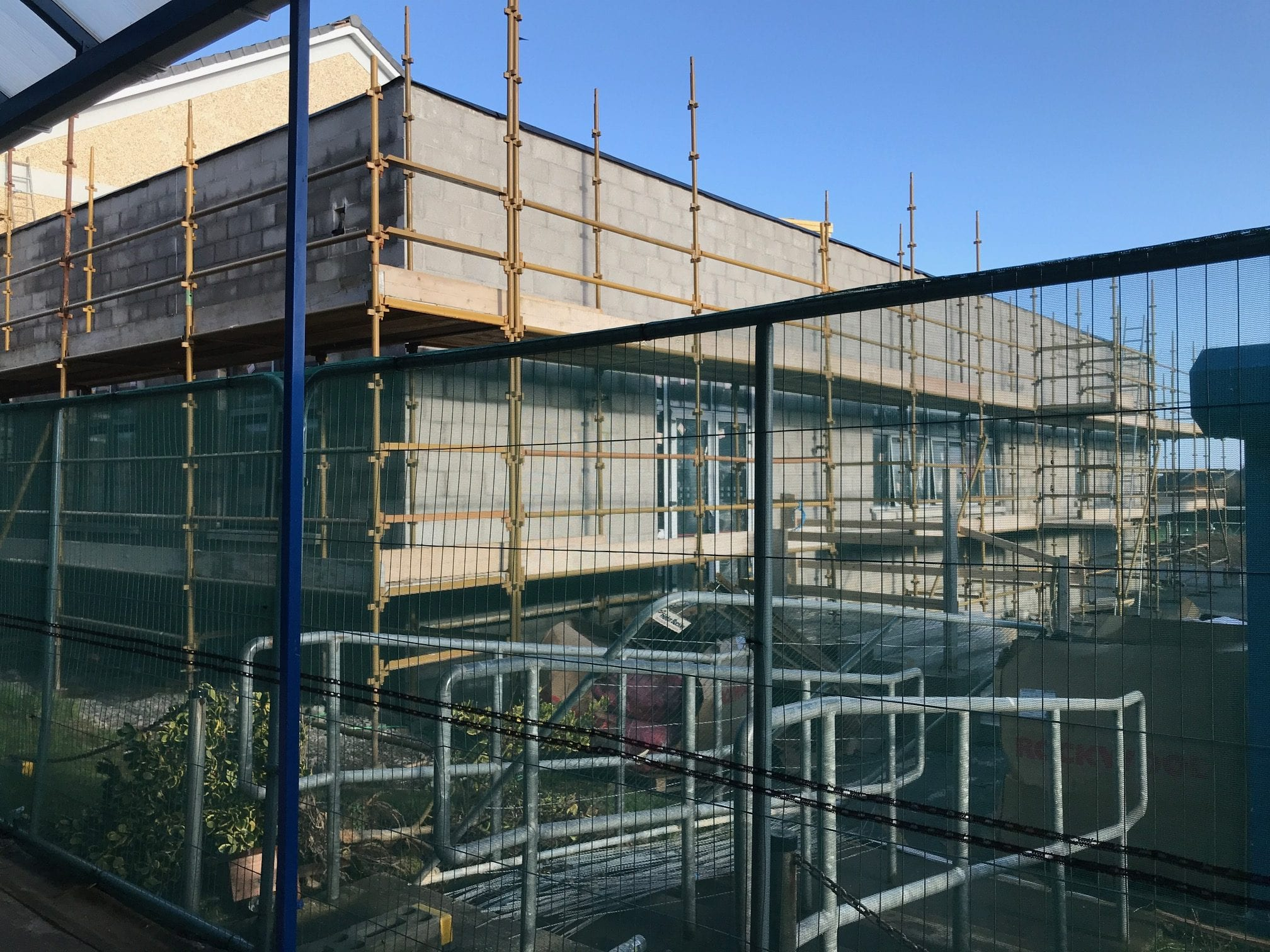February 2018: New Woodwork Room and Classrooms for Desmond College by Moloney Contractors