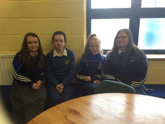 March 2018: Desmond College First Years participate in the Spelling Bee as part of Literacy Week
