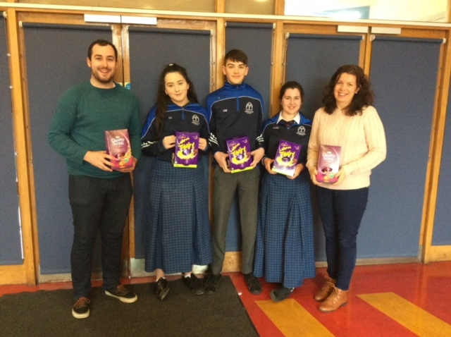 2018 March: Desmond College second year student winners of Digital Literacy Piccollage  for Literacy Week