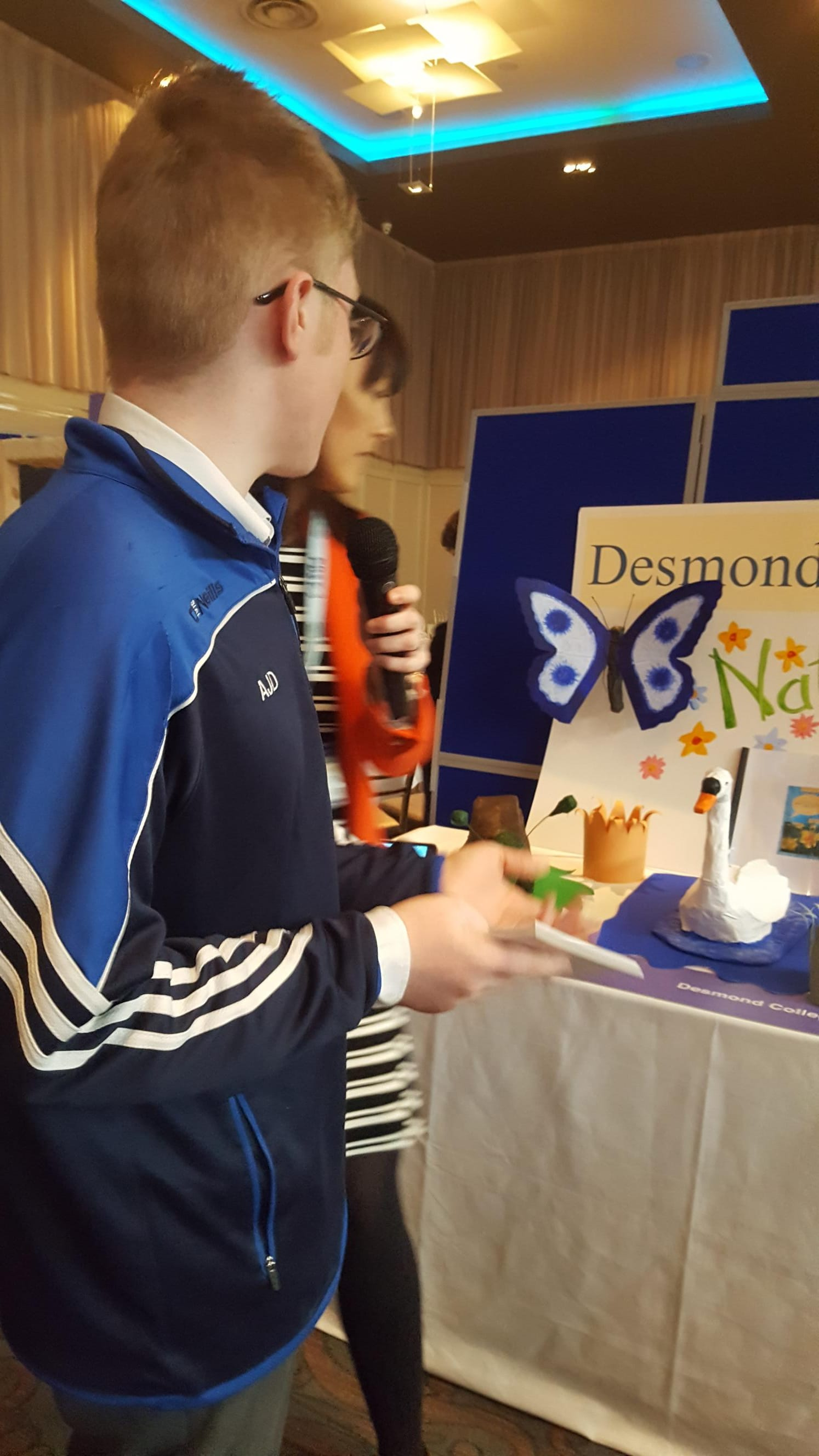 March 2018: Rang Hugh, Desmond College, participate in JCSP Make a Book