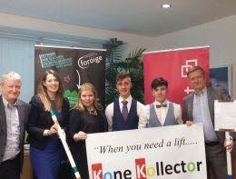 March 2018 Kone Kollector to represent Ireland in New York