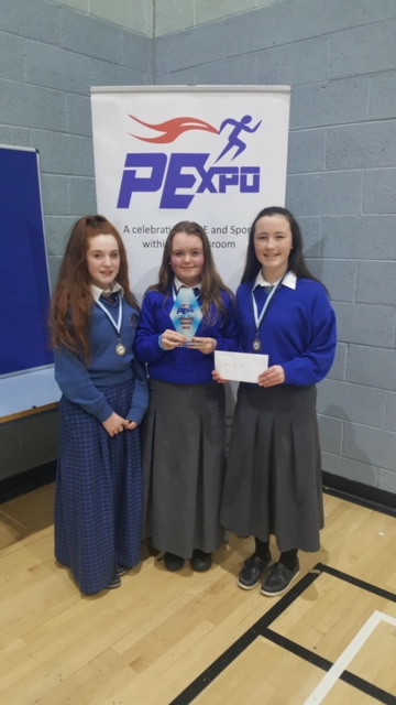 Desmond College students winner of the Junior Category at PExpo 2018