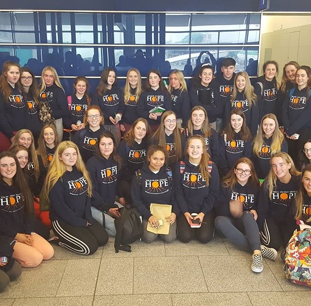 29th March 2018: Students from Desmond College begin their Trip to India today.