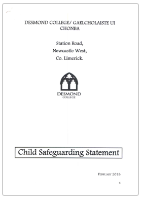 Child Safety Statement