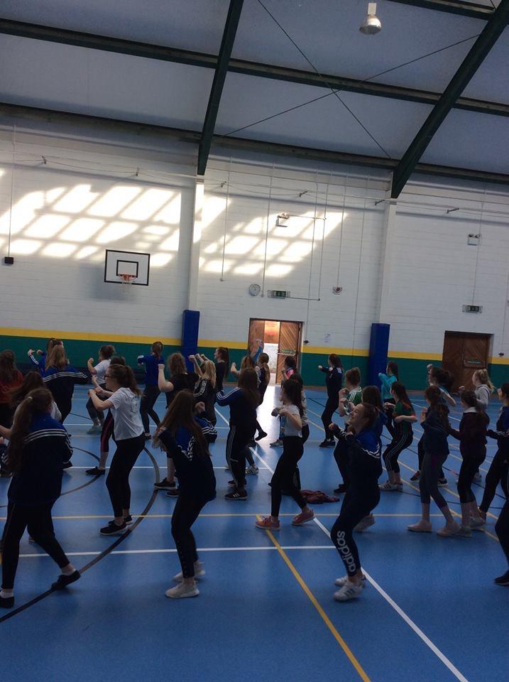 April 2018: Desmond College's Active Schools Week