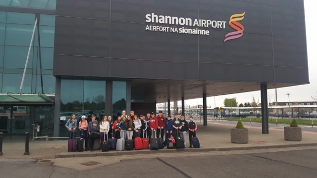 24th April 2018: Desmond College 2nd Year Students leave for their trip to Barcelona