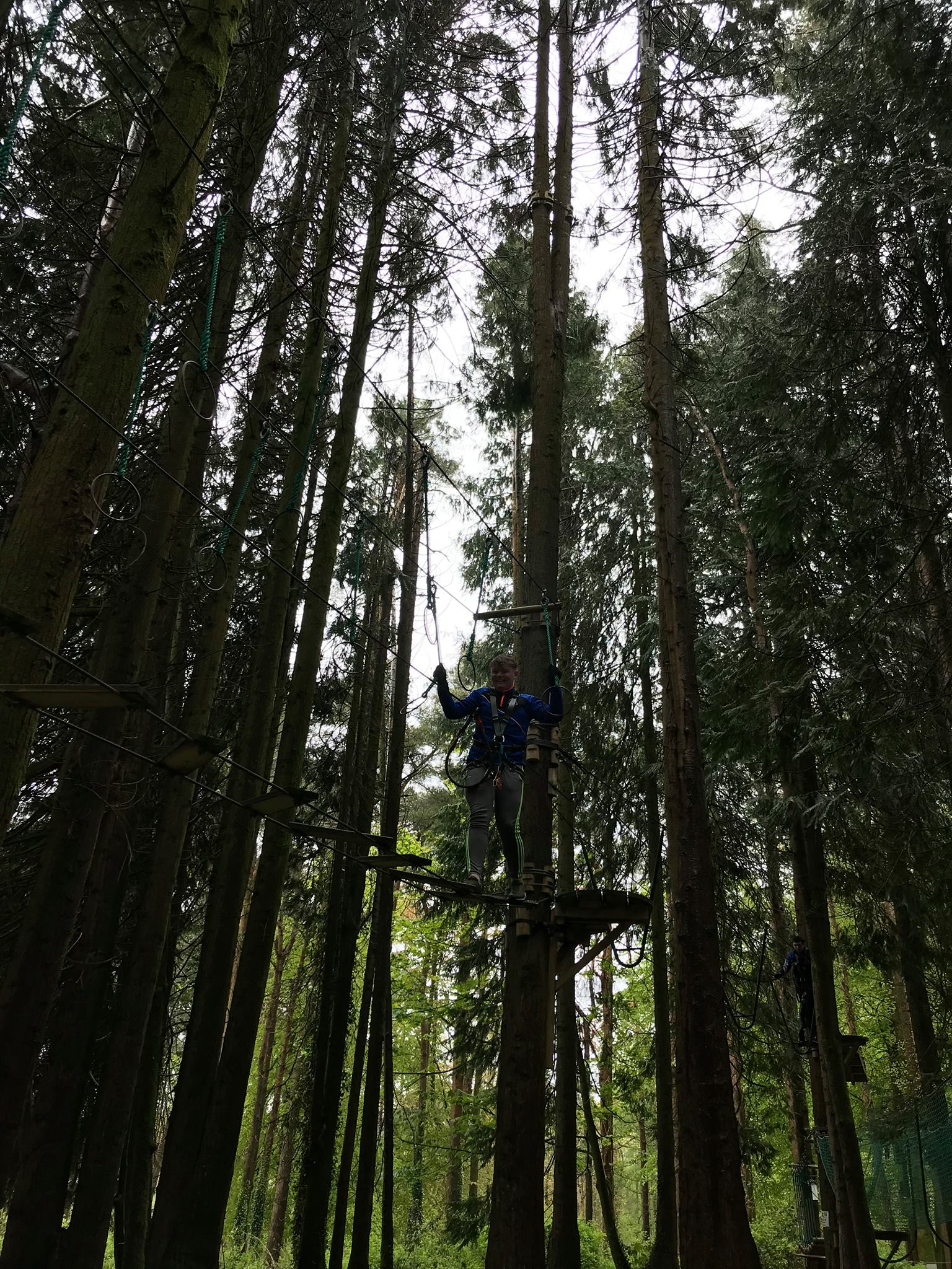 "May 2018: TY Students enjoy ""Zipit - Forrest Adventures"" in Farran Woods"