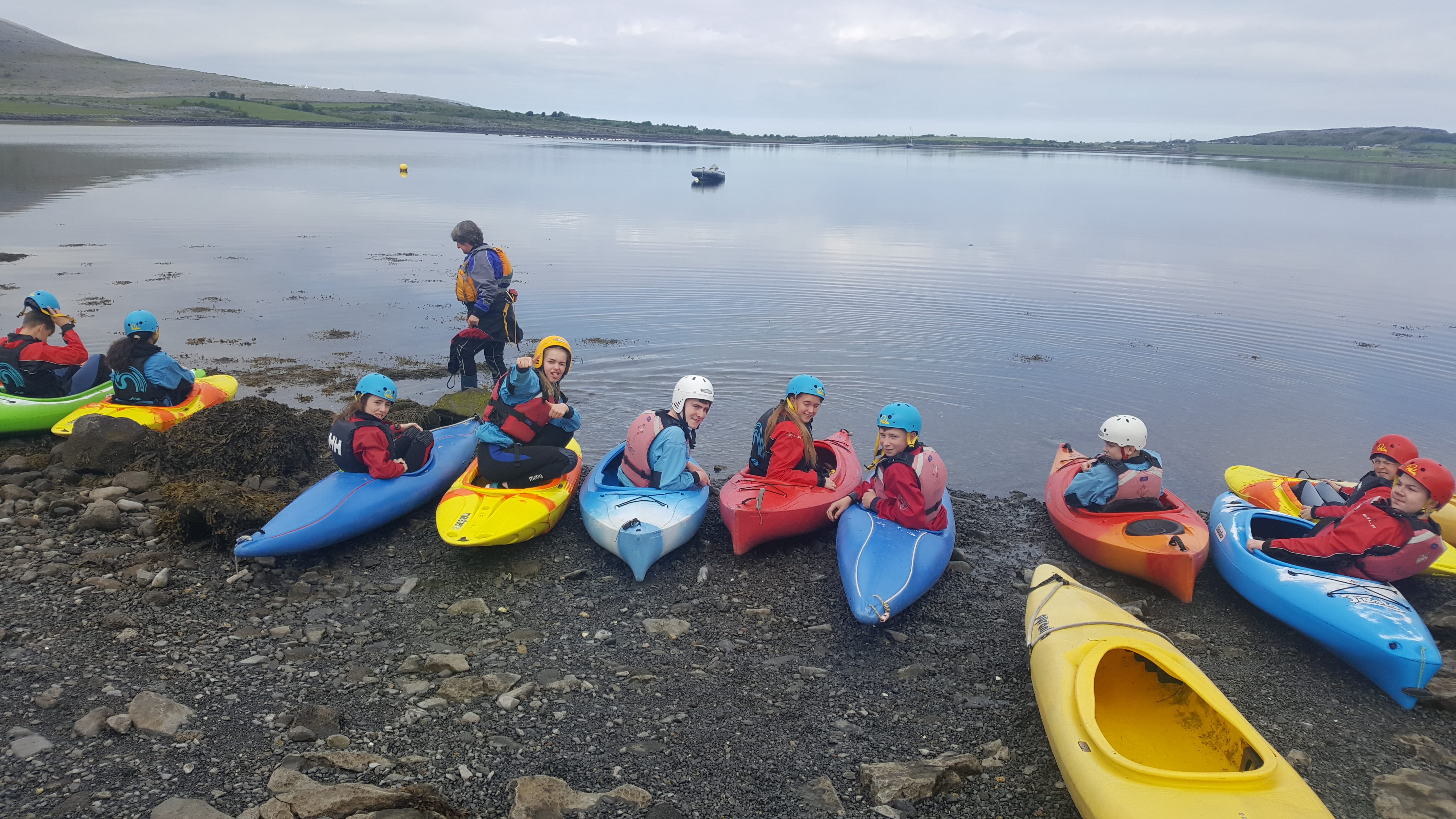 16th May 2018: Desmond College 1st Year Students on their Trip to the Burren